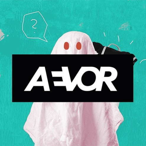 Fond of Bags Aevor Aevor Rocket Wink Design Backpack Ghost
