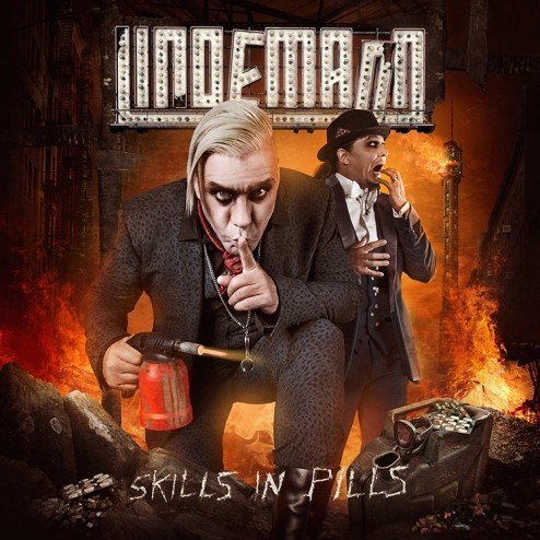 Lindemann Skills in Pills Rammstein Lindemann officially offiziell Artwork Rocket Wink Till Design Germany solo Skills in Pills Raise Abort