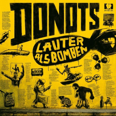 Donots Lauter Als Bomben Donots Artwork Gesaltung Album 2018 2017 Lauter als Bomben deutsch german design art artwork