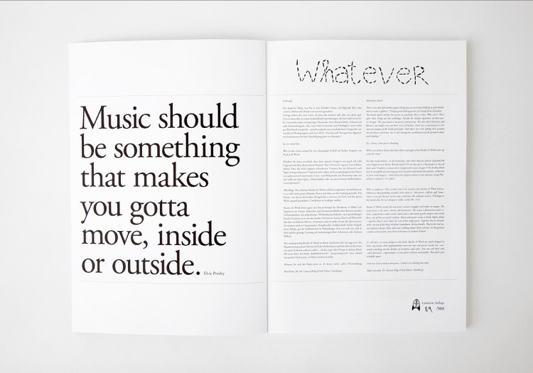 Whatever 3: About Music Posters 2