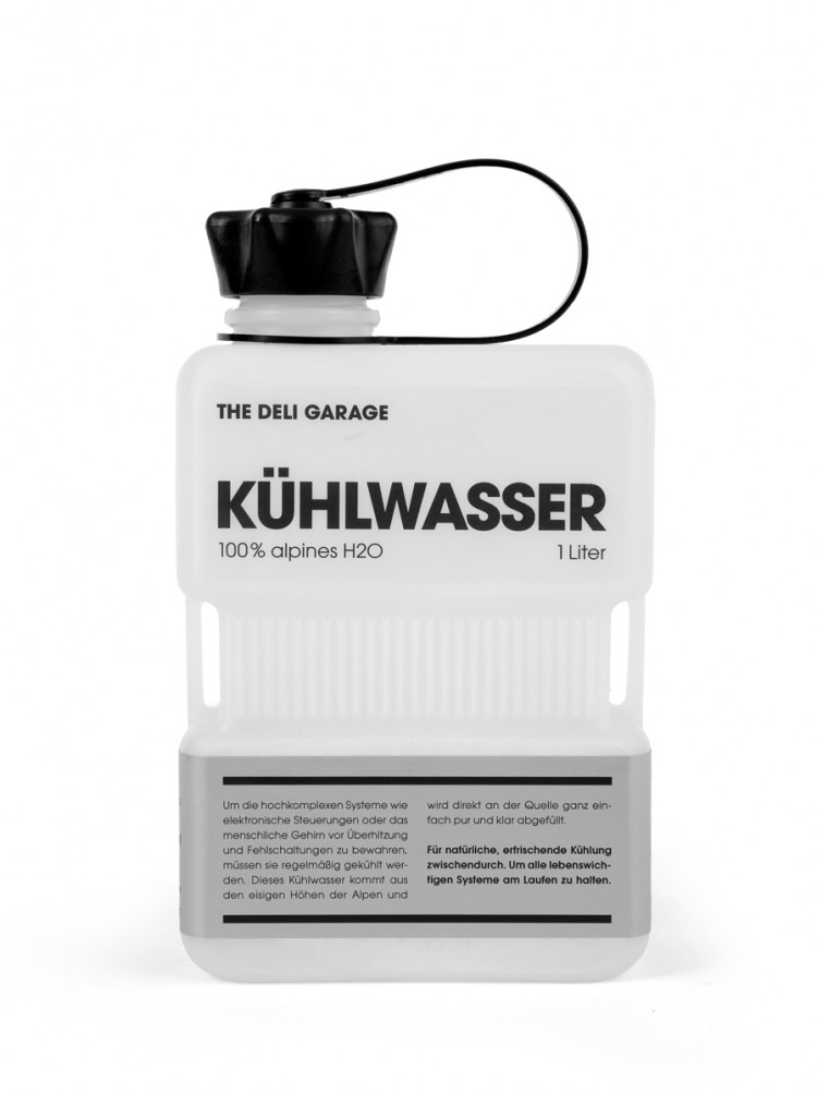 The Deli Garage. Kuehlwasser. 2