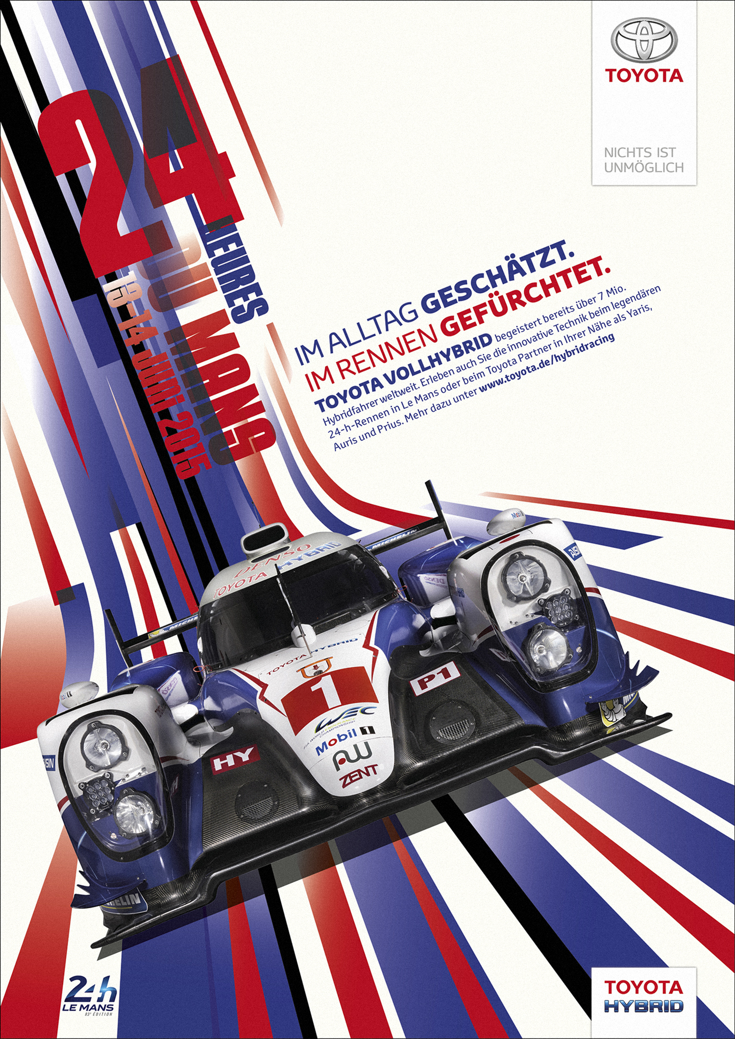 Toyota. WEC Racing Posters. 1