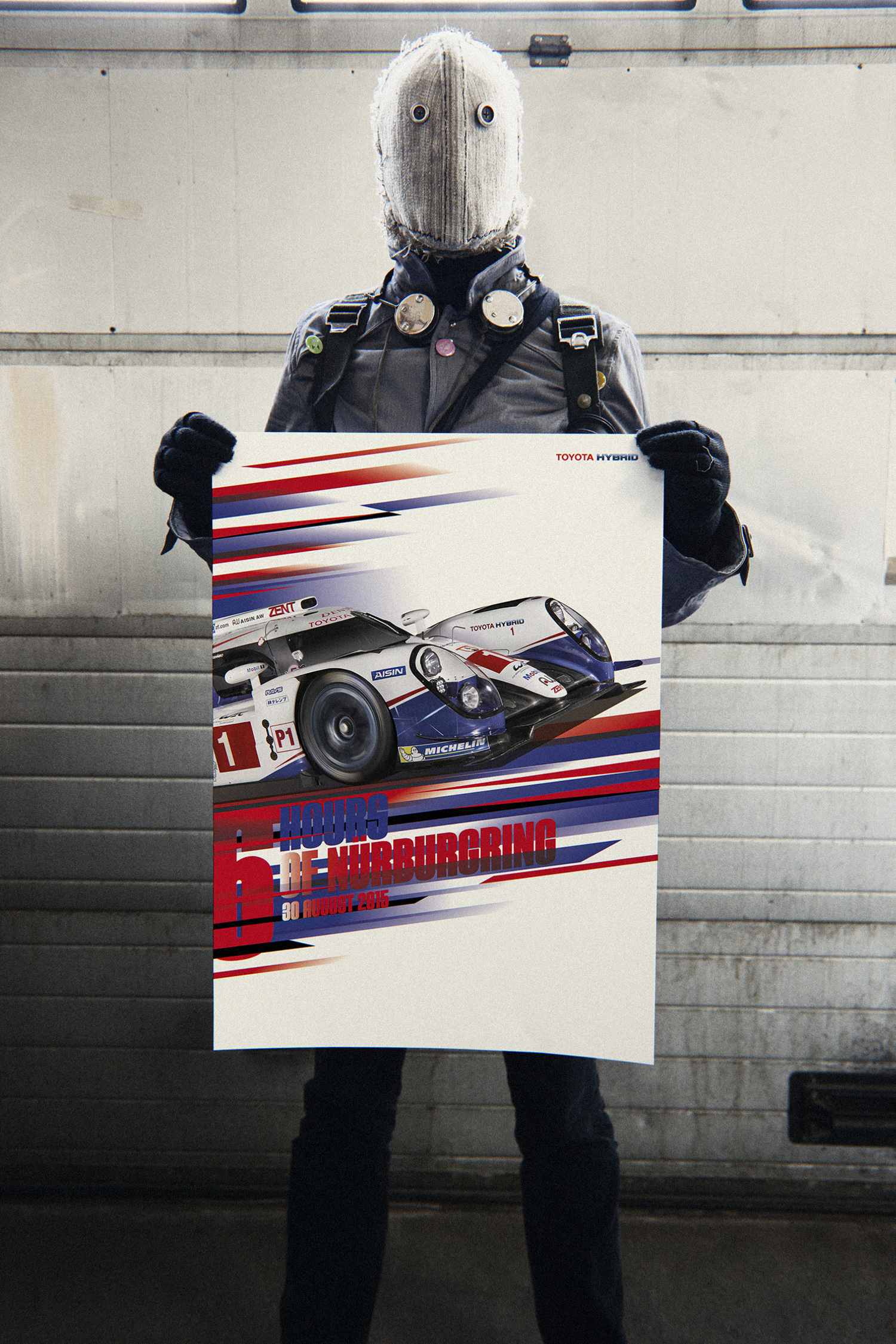 Toyota. WEC Racing Posters. 4